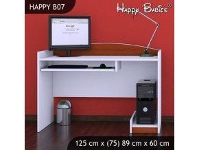 Písací stôl Happy Calvados B07
