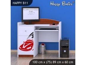 Písací stôl Happy Calvados B11