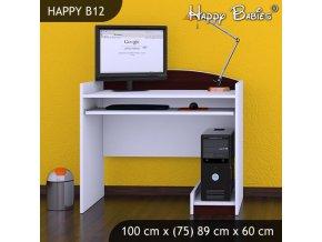 Písací stôl Happy Gaštan B12