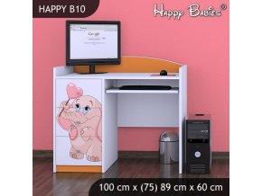 Písací stôl Happy Orange B10