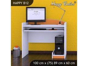 PC stôl Happy Orange B12