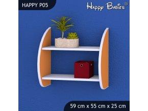 Polica Happy Orange P05