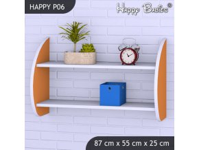 Polička Happy Orange P06