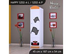 Skriňa Happy Orange SZ02-A