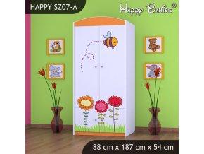 Skriňa Happy Orange SZ07-A
