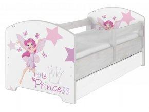 Posteľ Oskar X 160x80 Little princess