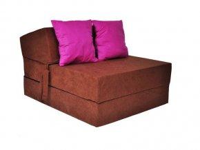Fotel rozkladací karamel