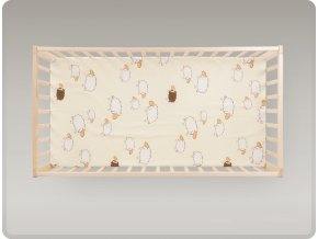 Detská postieľka Klasik Borovica dekor