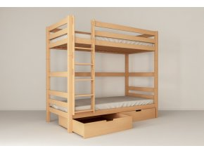 Poschodové postele z Buka Oliver 2 200X90 pre dospelých