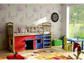 Vyvýšená detská posteľ Aramis 180x80