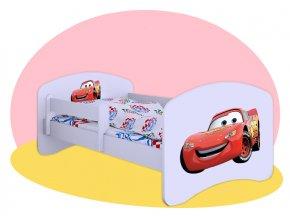 Cars Hobby posteľ pre deti 140x70