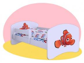 Hobby posteľ Hľadá sa Nemo 140x70
