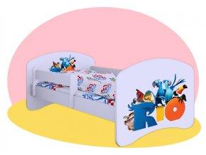 Hobby Rio - posteľ pre deti 140x70
