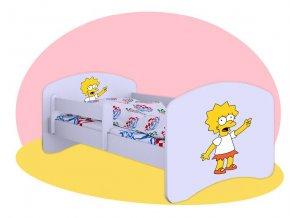 Lisa Simpson Hobby - detská posteľ 140x70