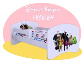 Hobby Hotel Transylvania 160x80 detské postele