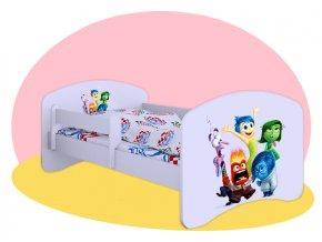 Hobby V hlave detská posteľ 160x80