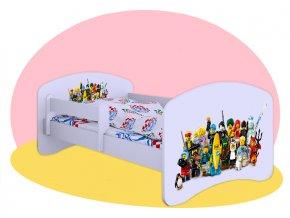 Hobby Lego poste pre deti 160x80