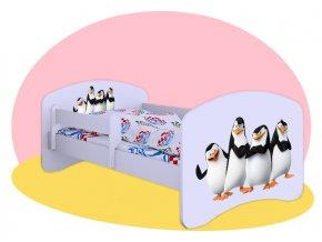 Hobby Tučniaci z Madagaskaru detské postele 160x80