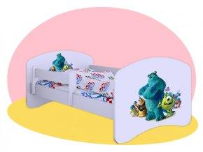 Hobby Monsters - detská posteľ 160x80