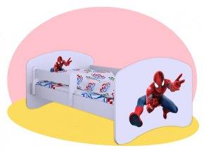 Hobby Spiderman detská posteľ 160x80