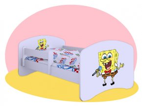 Hobby SpongeBob detské postele 160x80