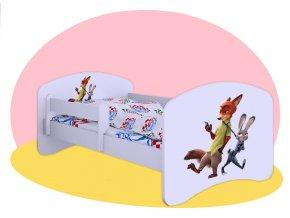 Hobby Zootopia detská posteľ 160x80