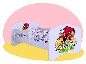 Angry Bird posteľ Hobby 180x90