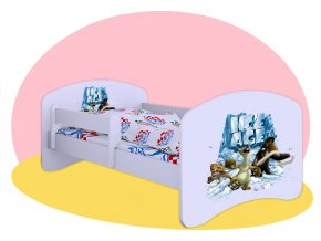 Posteľ Doba ľadová 180x90