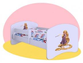 Hobby posteľ s motívom Tangled 180x90
