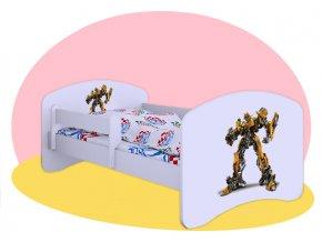 Detské postele Transformers 180x90