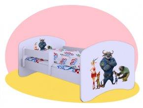 Detská posteľ Zootropolis 180x90