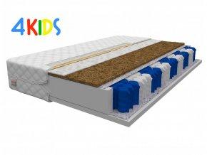 Detský matrac s kokosom Milan 180x80