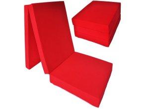 Farebný rozkladací matrac 195x80x15