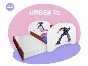 Happy P2 calvados detská posteľ s prístelkou 200x90