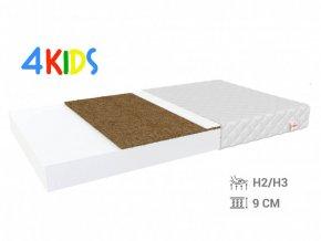 Kokosový matrac Bambino Coir Max 190x80x10