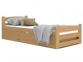 Dávid2 200x90 Jelša vyklápacia posteľ bez matraca