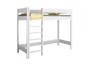 Hugo Pred 200x90 Biela vyvýšená posteľ