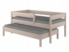 Junior 180x80 rozkladacia posteľ pre deti - viac farieb