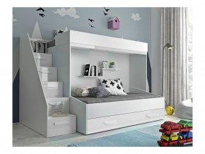 Multifunkčná poschodová posteľ Party 16 - viac farieb