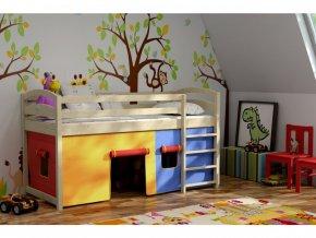 Vyvýšené detské postele Atos 180x80