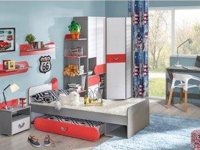Detská izba FOMA 2 - malinová