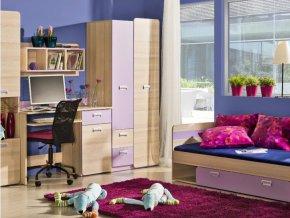 Študentská izba LUCAS 2 - fialová