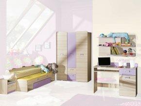 Študentská izba LUCAS 3 - fialová