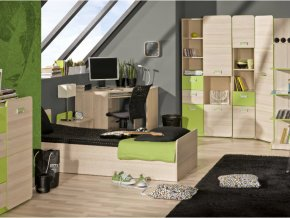 Študentská izba LUCAS 4 - zelená